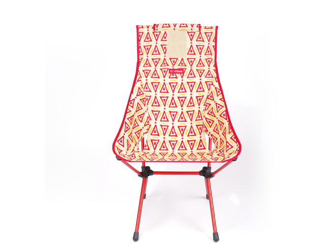 Helinox Sunset Silla, triangle red/red